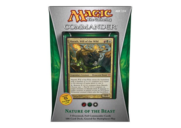 Commander Deck - Nature of the Beast