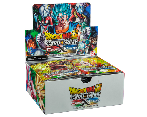Dragon Ball Super Card Game: Cross Worlds Booster Display