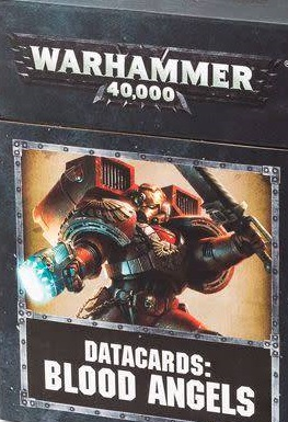 Datacards Blood Angels (8th Edition)