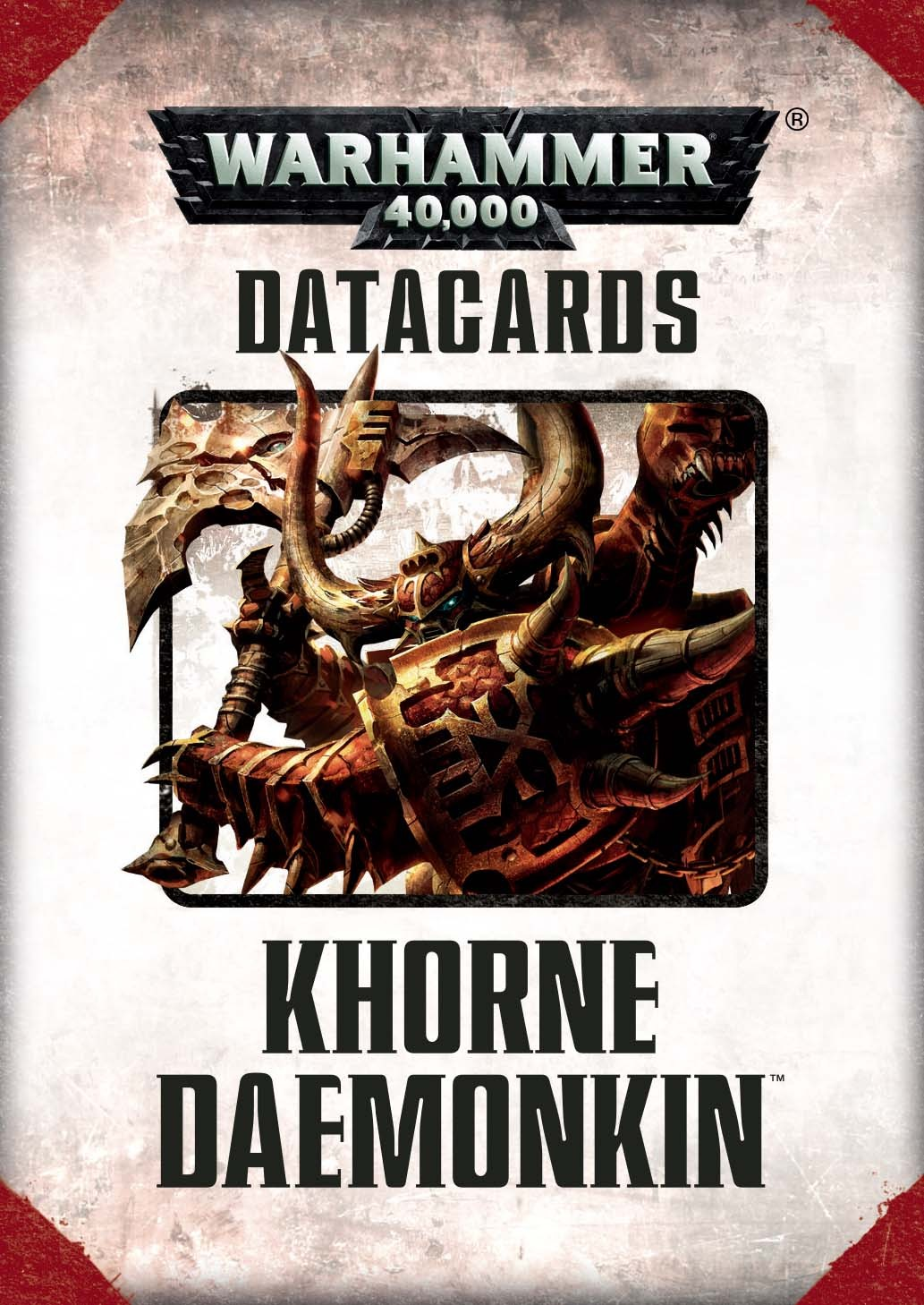 Datacards Khorne Daemonkin (7th Edition)