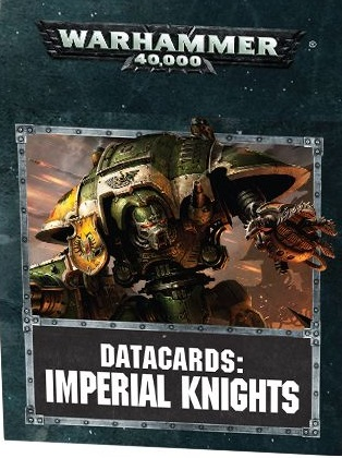 Datacards Imperial Knights (7th Edition)
