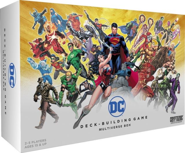 DC Deck Building Multiverse Box