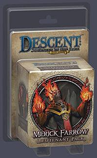 Descent: Journeys in the Dark: Merick Farrow Lieutenant Pack