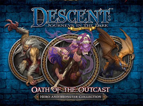 Descent: Journeys into the Dark - Oath of the Outcast Expansion