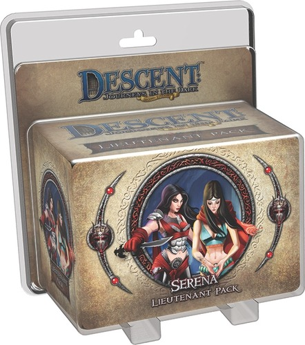 Descent: Journeys in the Dark: Serena Lieutenant Pack