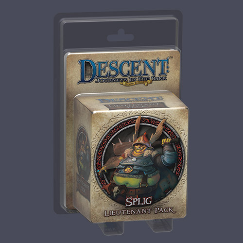 Descent: Journeys in the Dark: Splig Lieutenant Pack