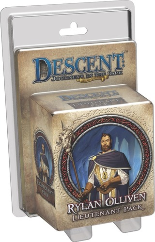 Descent: Journeys in the Dark: Rylan Olliven Lieutenant Pack