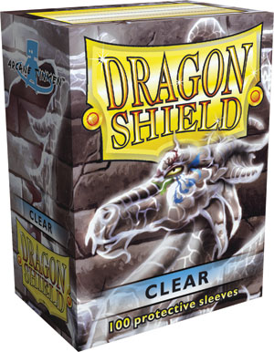 Dragon Shield Clear Sleeves Standard Size x100