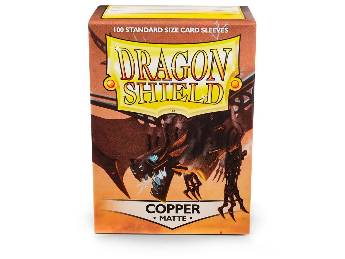 Dragon Shield Copper Matte Sleeves Standard x 100