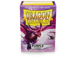 Dragon Shield Purple Classic Standard Sleeves x 100