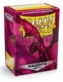 Dragon Shield Matte Magenta Sleeves