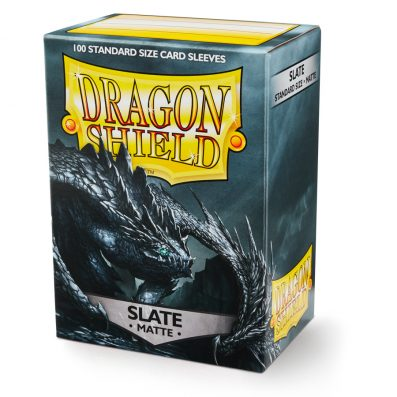 Dragon Shield Matte Slate Sleeves Standard Size x100