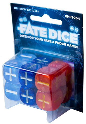 Fate Dice: Dresden Files Winter Knight