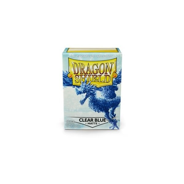 Dragon Shield Clear Blue Matte Standard x 100