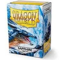 Dragon Shield Sapphire Matte Standard Sleeves
