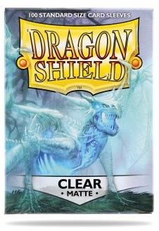 Dragon Shield Matte Clear Sleeves