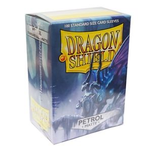 Dragon Shield Matte Petrol Sleeves