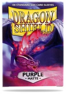 Dragon Shield Matte Purple Sleeves