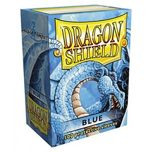 Dragon Shield Matte Blue Sleeves Standard Size x100