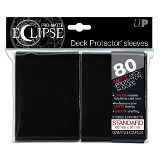Pro Matte Eclipse Black Small Sleeves