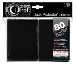 Pro Matte Eclipse Black Standard Sleeves