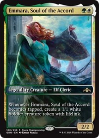 Emmara, Soul of the Accord - Game Day Promo