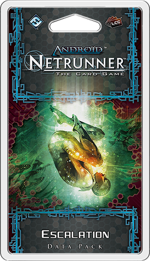 Android Netrunner Escalation Data Pack