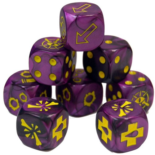 Escher Gang Dice Set