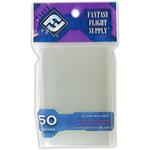 Fantasy Flight Supply: Standard European Board Game Sleeves