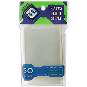 Fantasy Flight Supply Standard American Board Game Sleeves