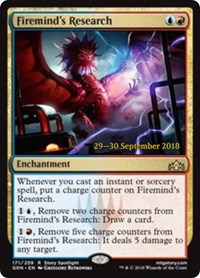 Firemind's Research - Prerelease Promo