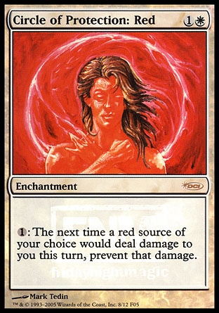 Circle of Protection: Red - FNM Promo