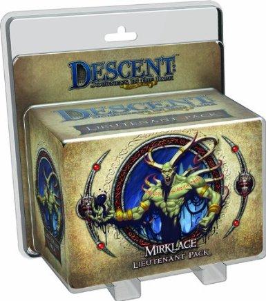 Descent: Journeys in the Dark: Gargan Mirklace Lieutenant Pack