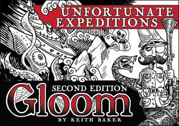 Gloom: Unfortunate Expeditions 2nd Ed. Expansion
