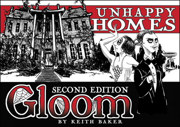 Gloom: Unhappy Homes Expansion (2nd Ed.)