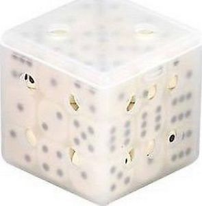 Dice Cube: Ivory (Old style)