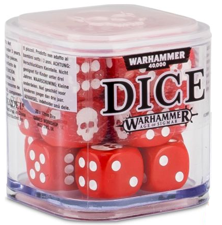 Dice Cube: Red