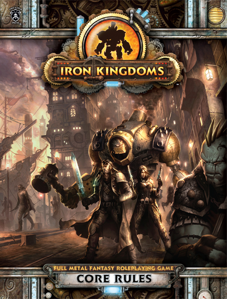 405 Iron Kingdoms: Core Rules