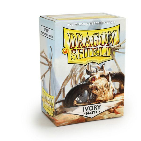 Dragon Shield Matte Ivory Sleeves