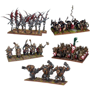 Kings of War Abyssal Dwarf Army