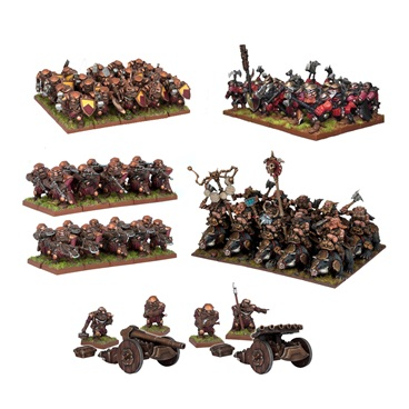 Kings of War Dwarf Army