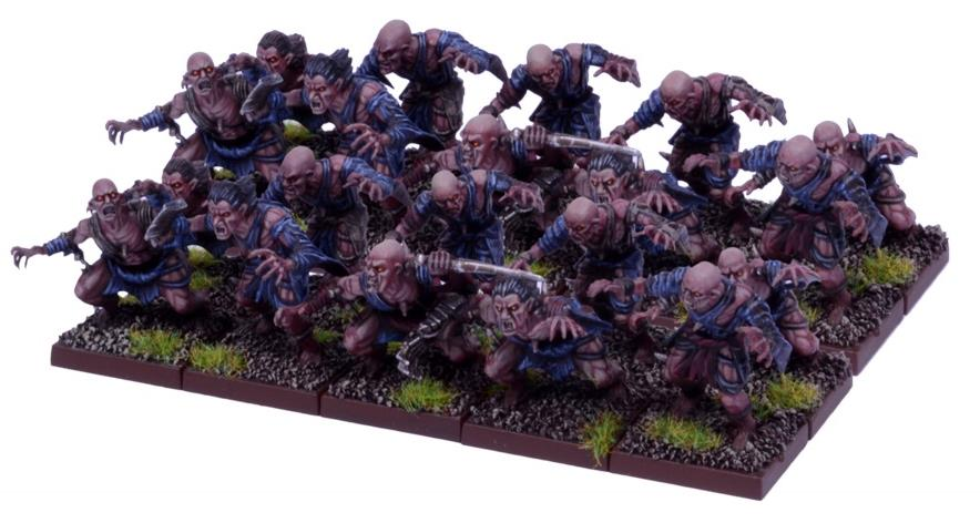 Kings of War Undead Ghoul Regiment