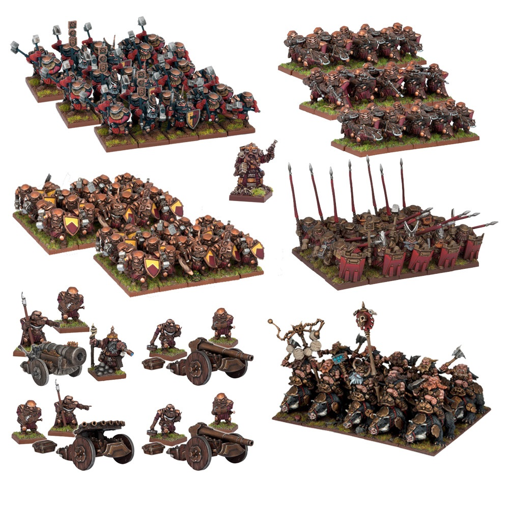 Kings of War Dwarf Mega Force