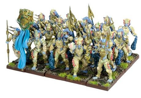 Kings of War Forces of Nature Naiad Regiment