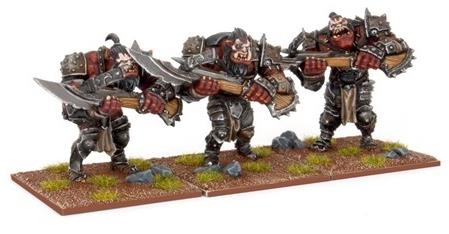 Kings of War Ogre Shooters