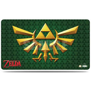Legend of Zelda Green Crest Play Mat