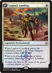 Legion's Landing / Adanto the First Fort - Alt Art Promo