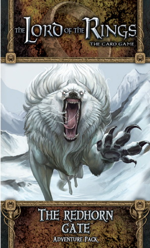 Lord of the Rings (LCG):The Redhorn Gate Adventure Pack