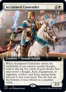 Acclaimed Contender (Extended Art Foil)