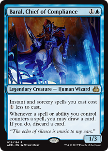 Baral, Chief of Compliance (Foil)